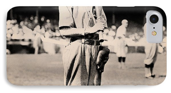 Johnny Evers 1910 IPhone Case by Mountain Dreams
