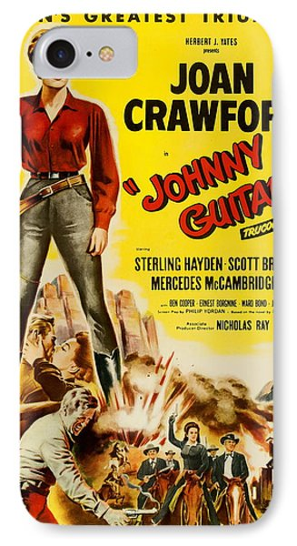 Johnny Guitar - 1954 IPhone Case by Georgia Fowler