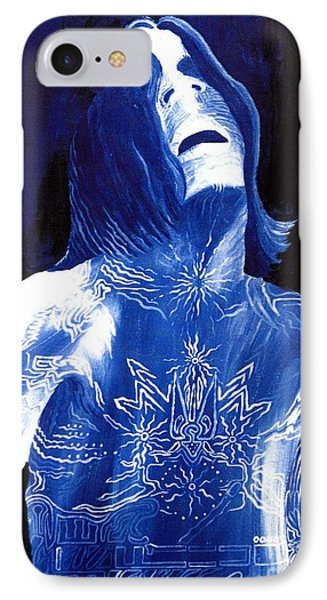 Johnny Lang - The Blues Phone Case by Mark Beach