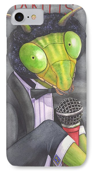 Johnny Mantis Phone Case by Catherine G McElroy