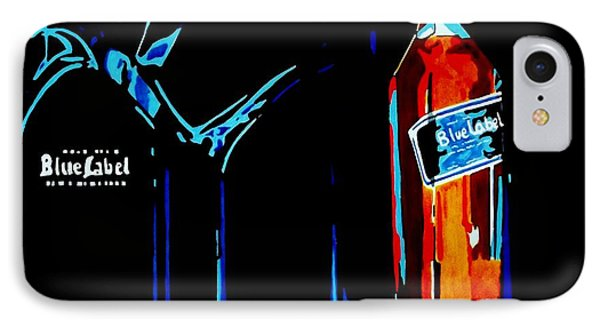 Johnny Walker Blue IPhone Case