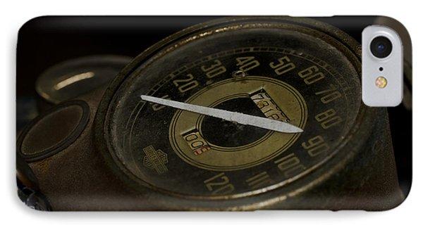 Johnnys 1941 Harley Davidson Phone Case by Wilma  Birdwell