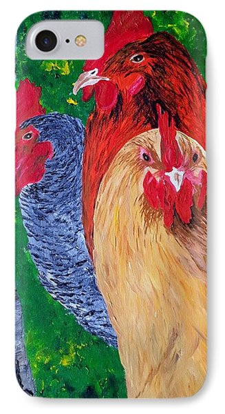 John's Chickens IPhone Case