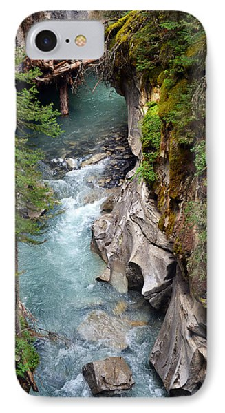 IPhone Case featuring the photograph Johnston Canyon by Yue Wang