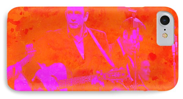 Johny Cash 3 Phone Case by Brian Reaves