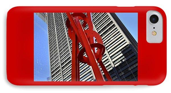 Joie De Vivre Sculpture Phone Case by Allen Beatty