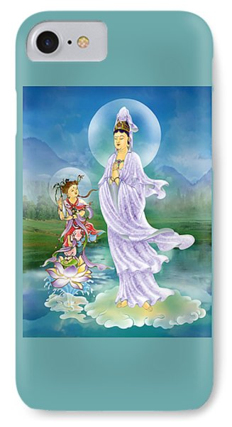 Joining Palms Kuan Yin IPhone Case by Lanjee Chee