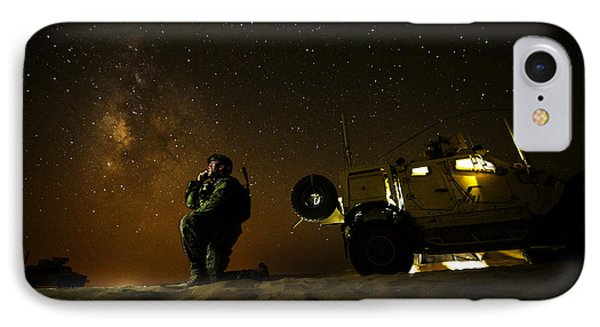Joint Terminal Attack Controller IPhone Case by Paul Fearn