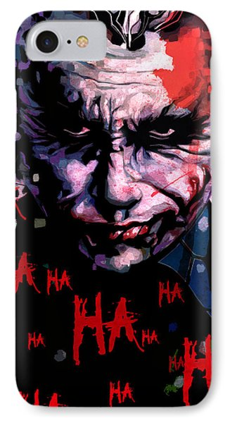 Joker IPhone 7 Case by Jeremy Scott