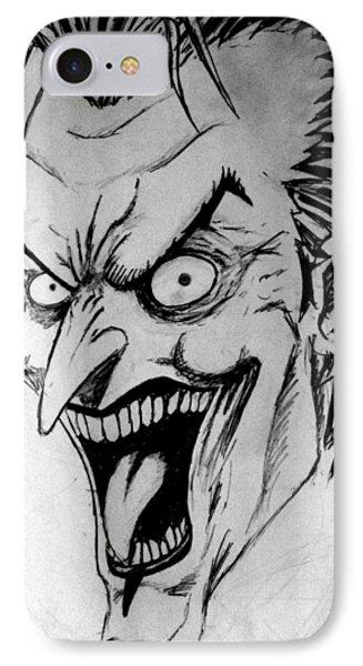 Joker IPhone Case by Salman Ravish