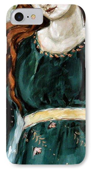 Jolene IPhone Case by Carrie Joy Byrnes