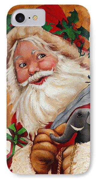 Jolly Santa IPhone Case by Enzie Shahmiri