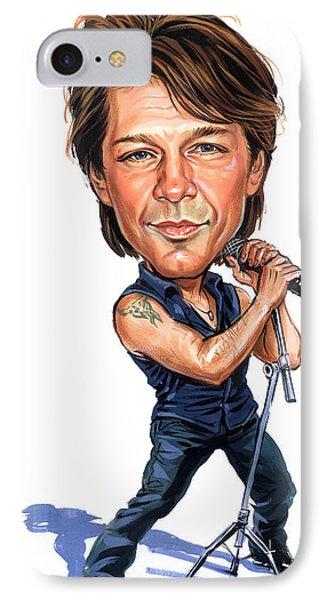 Jon Bon Jovi IPhone Case by Art
