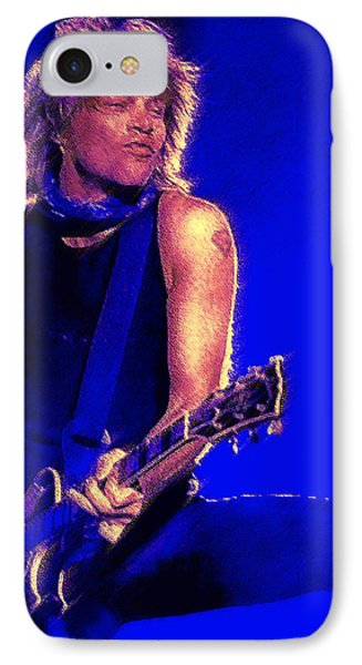 Jon Bon Jovi Phone Case by John Travisano