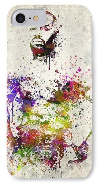 Jon Jones Phone Case by Aged Pixel