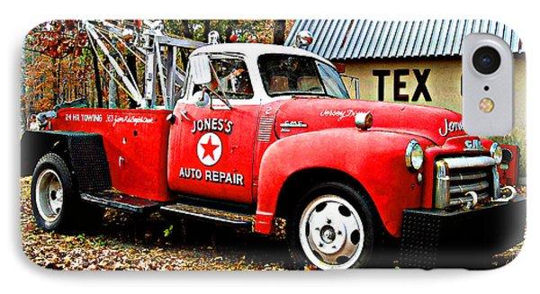 IPhone Case featuring the digital art Jone's Tex Co Auto Repair by K Scott Teeters