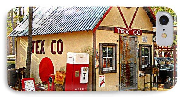 IPhone Case featuring the digital art Jones' Tex Co Station by K Scott Teeters