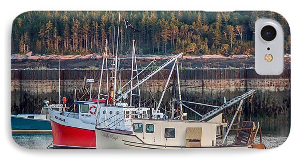 IPhone Case featuring the photograph Jonesport Maine  by Trace Kittrell