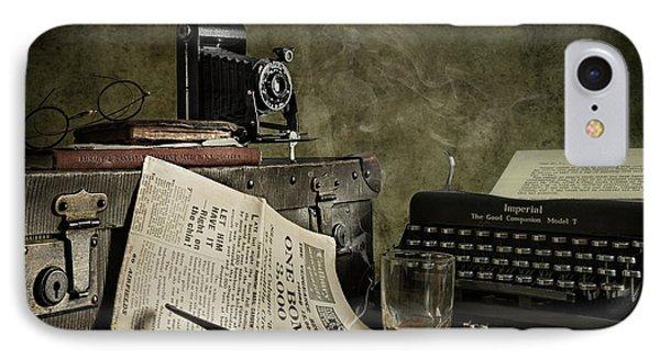 Jonnie Walker War Correspondent IPhone Case