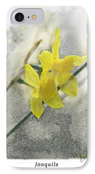 IPhone Case featuring the photograph Jonquils by Robert Camp