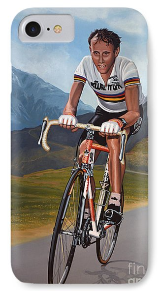 Joop Zoetemelk IPhone Case by Paul Meijering