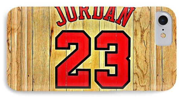 Jordan 23 Poster IPhone Case by Florian Rodarte
