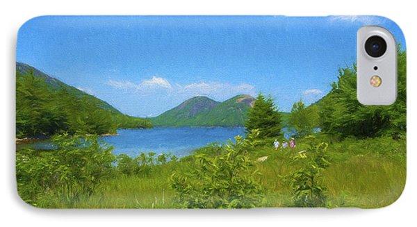 Jordan Pond Acadia National Park IPhone Case