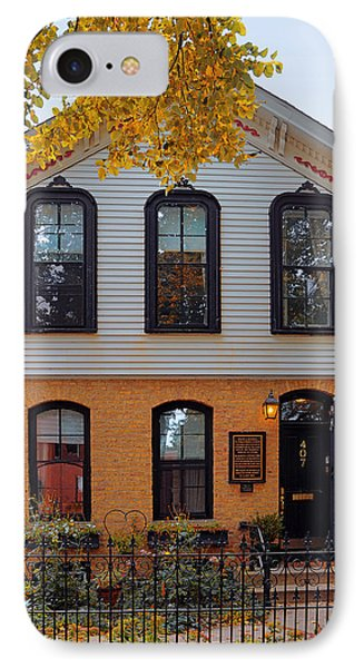 Joseph J O'connell House Chicago Phone Case by Christine Till