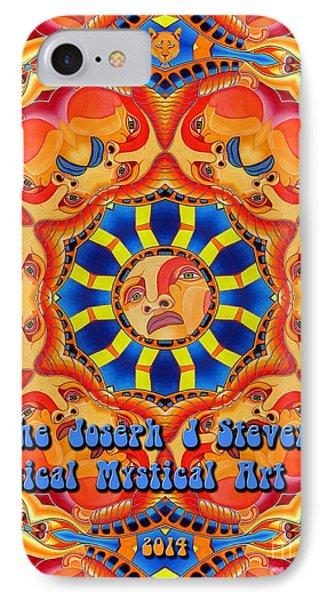 Joseph J Stevens Magical Mystical Art Tour 2014 IPhone Case