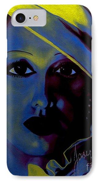 Josephine Baker IPhone Case by Chelle Brantley