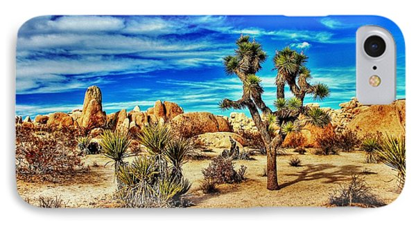 IPhone Case featuring the photograph Joshua Tree by Benjamin Yeager