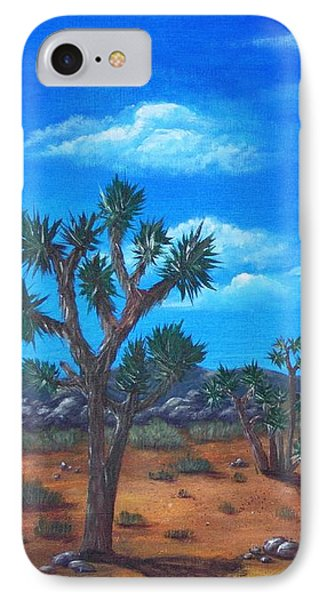 Joshua Tree Desert IPhone Case by Anastasiya Malakhova