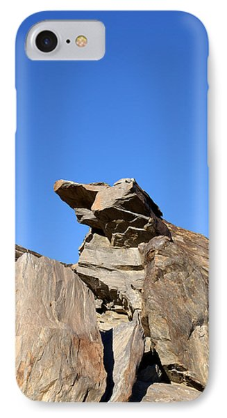 Joshua Tree Monster Rock IPhone Case by Barbara Snyder