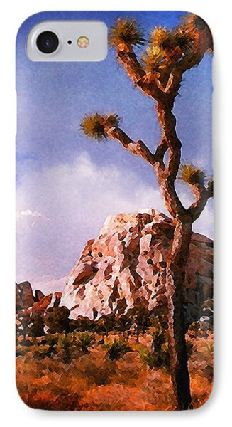 IPhone Case featuring the photograph Joshua Trees 3 by Timothy Bulone