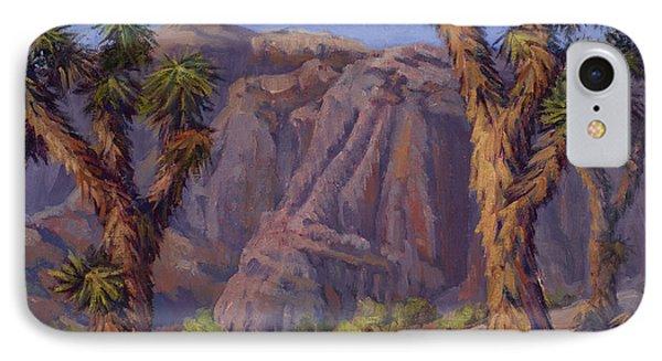 Joshua Trees- Mojave IPhone Case by Jane Thorpe