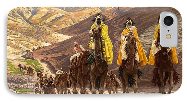 Journey Of The Magi IPhone Case by Tissot