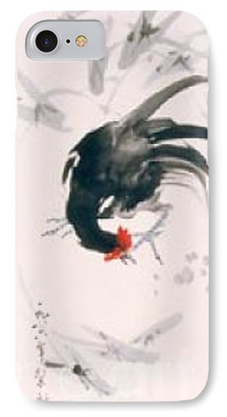 IPhone Case featuring the painting Jovial by Fereshteh Stoecklein