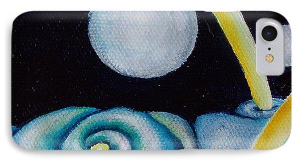 Jovian Gretings  Phone Case by Eliza Furmansky