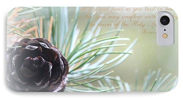 Joy And Peace IPhone Case by The Art Of Marilyn Ridoutt-Greene