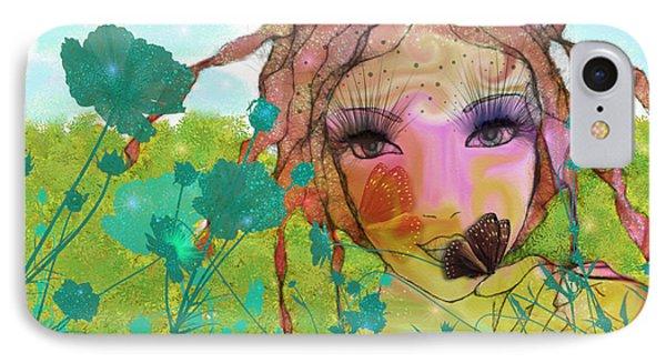 IPhone Case featuring the digital art Joy by Barbara Orenya