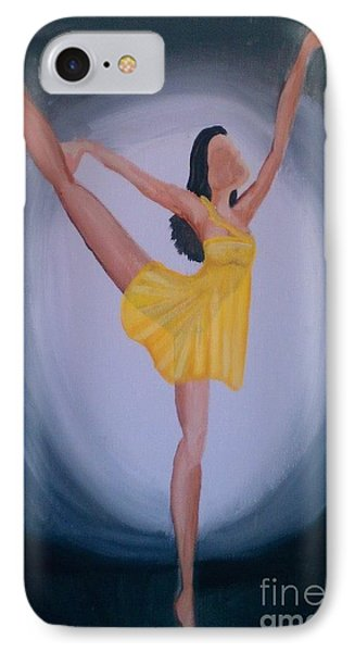IPhone Case featuring the painting Joy by Marisela Mungia