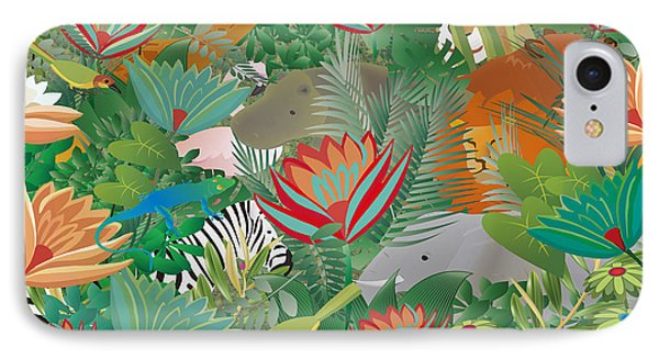 Joy Of Nature Limited Edition 2 Of 15 IPhone Case by Gabriela Delgado