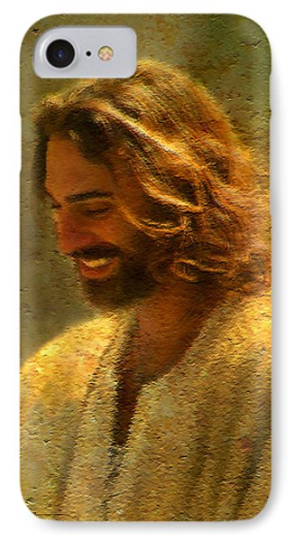 Joy Of The Lord IPhone Case by Greg Olsen