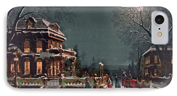 Joy Of The Season IPhone Case by Lianne Schneider