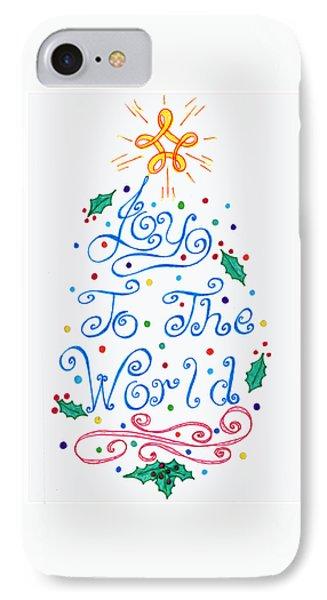 Joy To The World IPhone Case