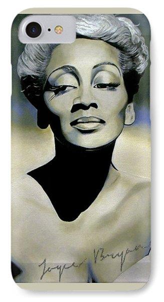 Joyce Bryant  IPhone Case by Chelle Brantley