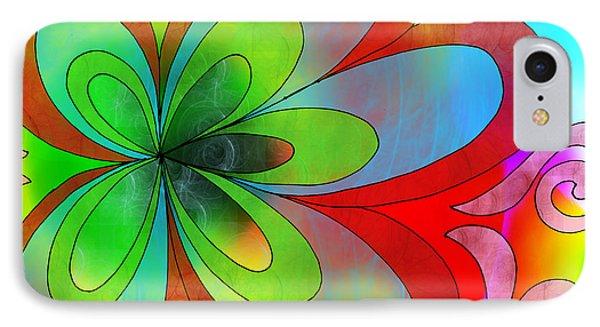 Joyful Peace - Paix Joyeuse Phone Case by Louise Lamirande