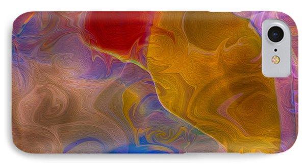 Joyful Sorrow IPhone Case by Omaste Witkowski