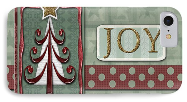 Joyful Tree Card Phone Case by Arline Wagner