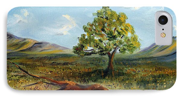 IPhone Case featuring the painting Jubilant Fields by Meaghan Troup